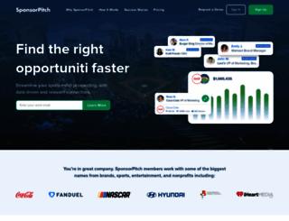 sponsorpitch.com screenshot