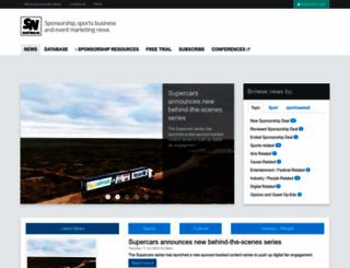 sponsorshipnews.com.au screenshot