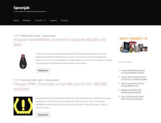 spoonjab.com screenshot