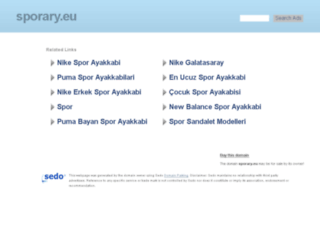 sporary.eu screenshot