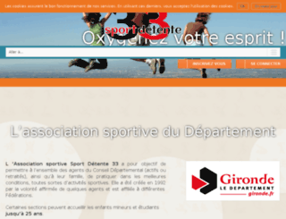 sport-detente33.fr screenshot