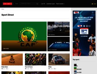sport-direct.fr screenshot