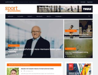 sport-fachhandel.com screenshot