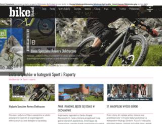 sport-raporty.bikeboard.pl screenshot