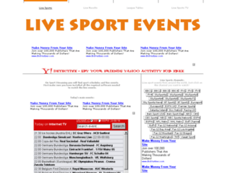 sport-streaming.net screenshot