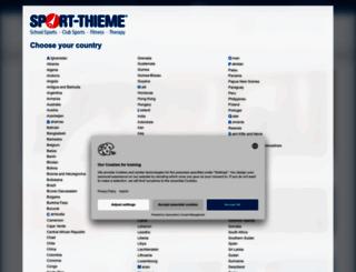 sport-thieme.net screenshot