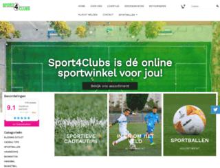 sport4clubs.nl screenshot