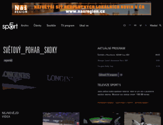sport5.cz screenshot