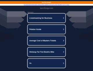 sportblog.co.za screenshot