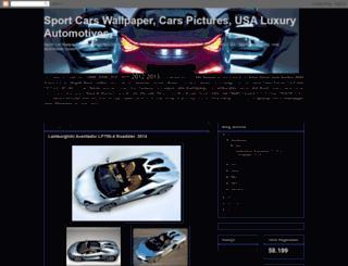 sportcar-wallpaper.blogspot.com screenshot