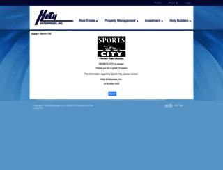 sportcity.com screenshot