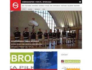 sportdobrodzien.pl screenshot