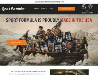 sportformula.com screenshot