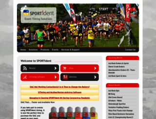 sportident.co.uk screenshot