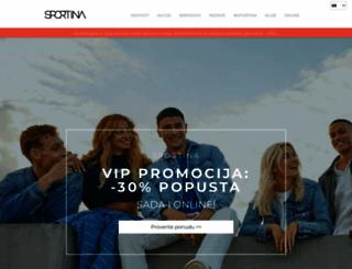 sportina.rs screenshot