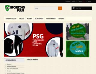 sportingplus.it screenshot