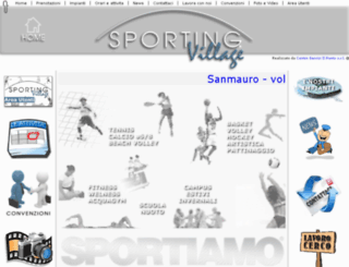 sportingrezzato.it screenshot