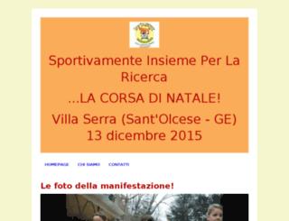 sportivamentecorsanatale.altervista.org screenshot
