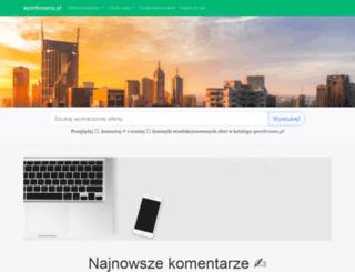 sportkrosno.pl screenshot