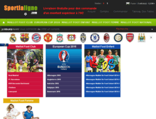 sportlaligne.com screenshot