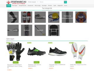 sportmarkt.hu screenshot
