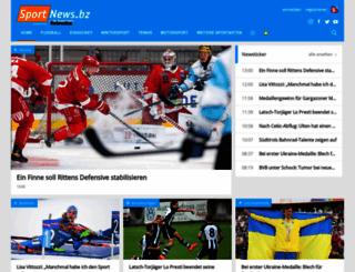 sportnews.bz screenshot