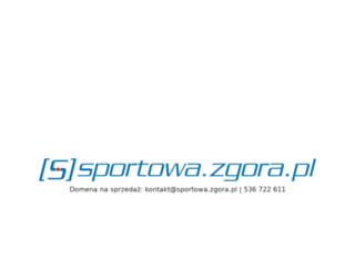 sportowa.zgora.pl screenshot