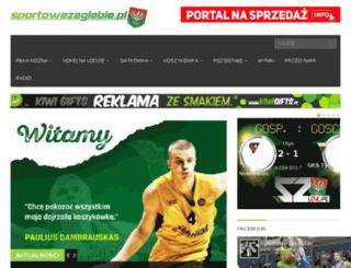 sportowezaglebie.pl screenshot