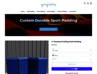 sportpadding.com screenshot