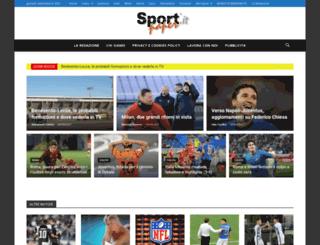 sportpaper.it screenshot