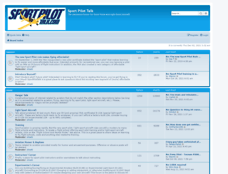 sportpilottalk.com screenshot