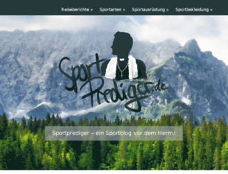 sportprediger.de screenshot