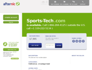 sports-tech.com screenshot
