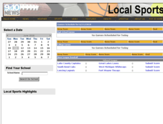sports.9and10news.com screenshot