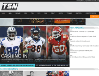 sports.optimum.net screenshot