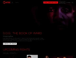 sports.sho.com screenshot