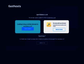 sportsbase.co.uk screenshot