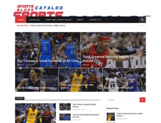 sportsblogscatalog.com screenshot
