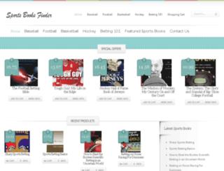 sportsbooksfinder.com screenshot