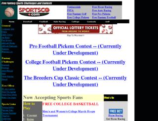 sportsco.com screenshot
