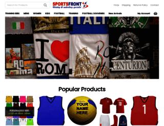 sportsfront.co.uk screenshot