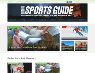 sportsguidemag.com screenshot
