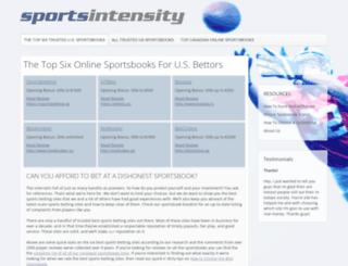 sportsintensity.com screenshot