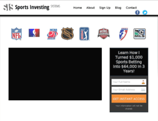 sportsinvestingsystems.com screenshot