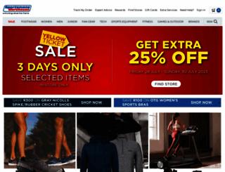 sportsmanswarehouse.co.za screenshot