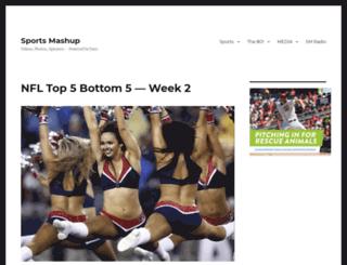 sportsmashup.com screenshot