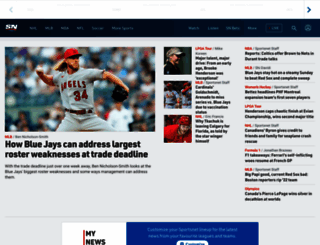 sportsnet.ca screenshot