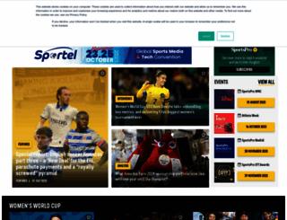 sportspromedia.com screenshot