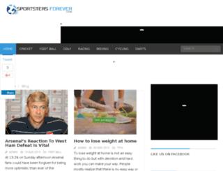 sportstersforever.com screenshot