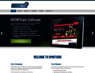 sportsubs.com.au screenshot